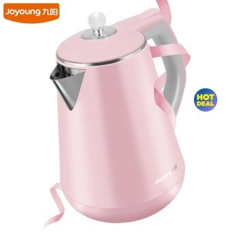 Joyoung K15-F628 High Quality Stainless Steel Electric Kettle 1.5LHeat Preservation Auto-off Kettle (Pink)