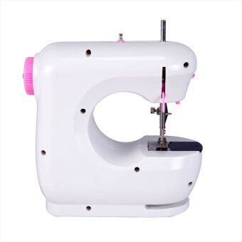 JYSM-301 Portable Dual Speed Mini Upgraded 202 Sewing Machine (Pink)