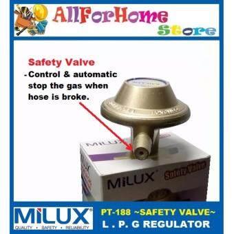 ... M-188 MILUX L.P.G Regulator c/w SAFETY VALVE - 4 ...