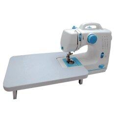 Maidronic Sewing Machine PRO 505 12 sewing options With Expansion Board (Light Blue)