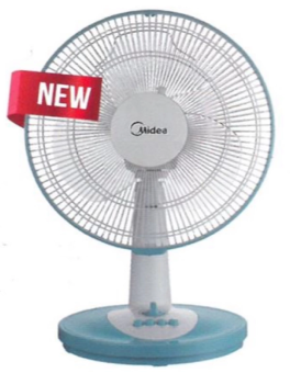 Midea Table Fan MF-12FT15A (Random Color)