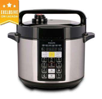 Philips HD2136 Pressure Cooker Electric 5.0L (Silver)