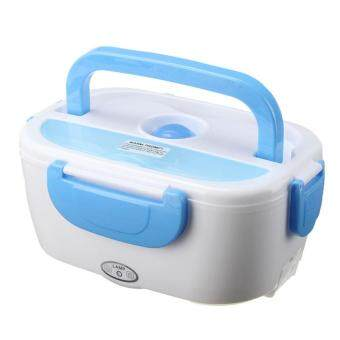 Harga S19 Multifunctional Portable Heating Electric Lunch Box (Blue)