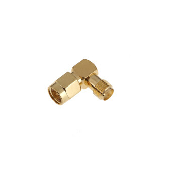 Harga SMA Male to SMA Female Jack Plug Right Angle RF Adapter Connector