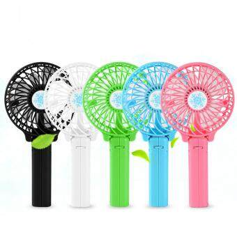 Sunyoo-High Quality Foldable Rechargeable Speed Adjustable Mini USBHandheld Handy Desk Travel Fan Black - 3
