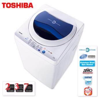 TOSHIBA AW-F820SM 7.2KG Washing Machine with 7 Years Motor Warranty + 3 Years Control Panel Warranty + 2 Years General Warranty