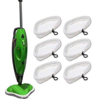 Triangle Head Steam Mop 6 Pcs Replacement Washable Cloth Pad CoverH20 Reusable Steam Mop Cover Dust Cleaning Mop Cloth