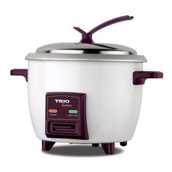 Trio (TRC-1803) 1.8L Rice Cooker with Steamer (White)
