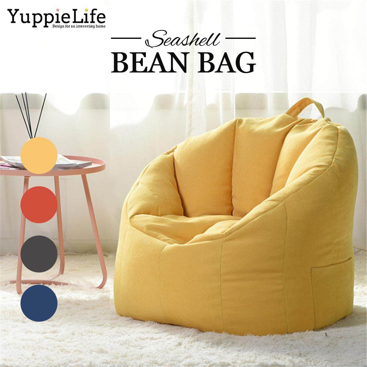 Prime Big Joe Milano Bean Bag Chair Multiple Colors Available Comfort For Kids Adult Yuppielife Large Bean Bag Chairs Couch Sofa Cover Indoor Lazy Lounger Machost Co Dining Chair Design Ideas Machostcouk