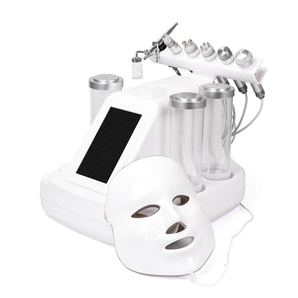 【2 Free Gifts】7 In 1 Dermabrasion Hydra Machine Oxygen injection Skin  Beauty Cleansing Facial Replenishment Bubble Machine Photon Skin Care