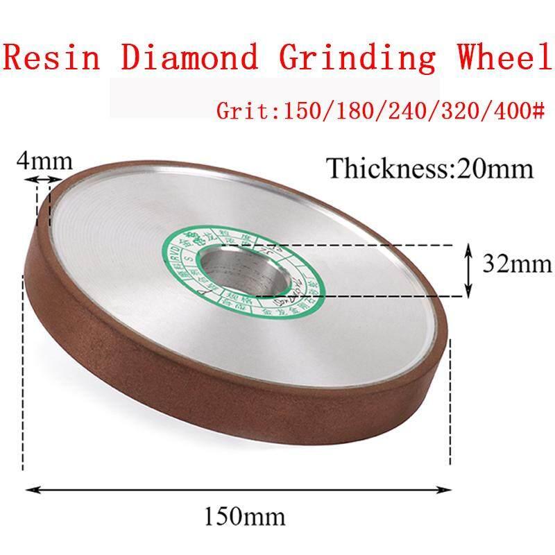 3 Inch Flat Resin Diamond Grinding Disc Wheel Carbide Cutter Grinder 20mm Bore