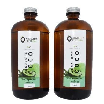 Absolute Coco Extra Virgin Coconut Oil 2 x 1Liter