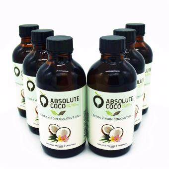 Harga Absolute Coco Extra Virgin Coconut Oil 6 x 125ml