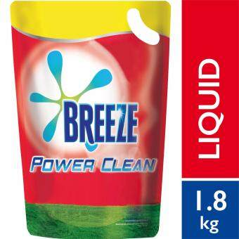 Breeze Detergent Liquid Power Clean Refill Pack 1.8 kg