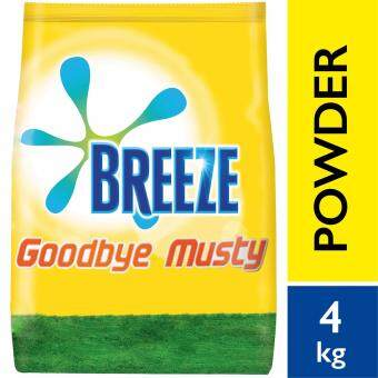 Breeze Detergent Powder Indoor Drying Goodbye Musty 4 kg