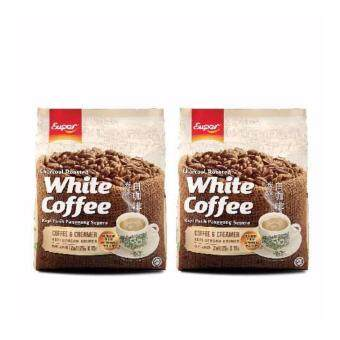 Harga [BUNDLE OF 2] SUPER CHARCOAL ROASTED WHITE COFFEE - COFFEE &CREAMER