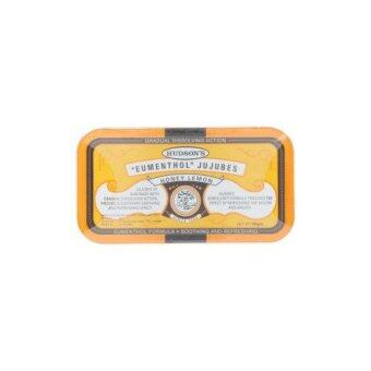 Hudson's Honey Lemon Eumenthol Jujubes 50g