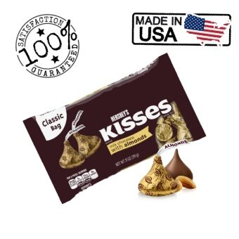 Harga Hershey's Kisses with Almonds 311g (Made in USA)