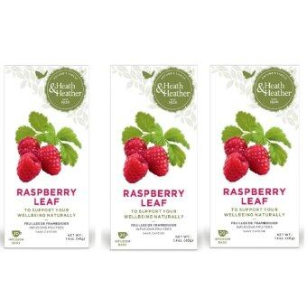 Harga Heath & Heather Raspberry Leaf Tea Triple Pack - ( 3 boxes of 20 sachets)