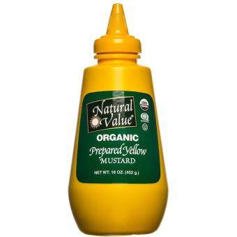 Harga NATURAL VALUE Organic Prepared Yellow Mustard 452g
