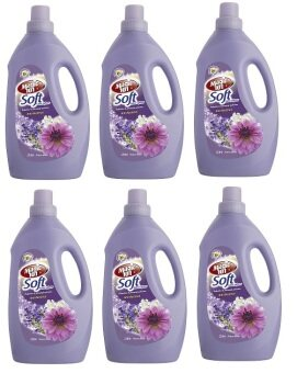 Harga Magic101 Soft Fabric Softener 2L - Flower Charm x 6