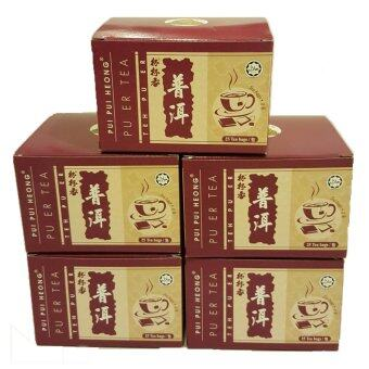 Harga Pui Pui Heong Pu Er Tea Bag (5 Boxes)