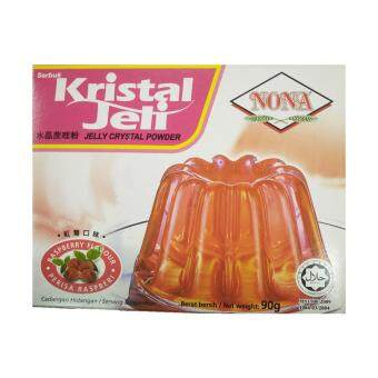Harga NONA Crystal Jelly Raspberry 90g