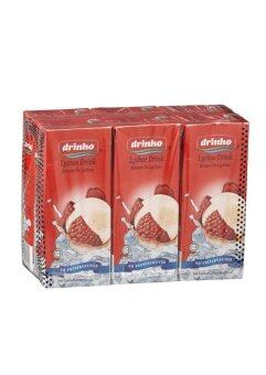 Harga Drinho Asian Drink Lychee Drink 4 x 6 x 250ml