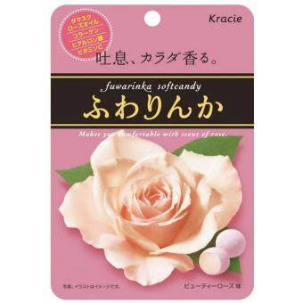Harga Kracie気温 fuwarinka fruity rose flavor soft candy 32g
