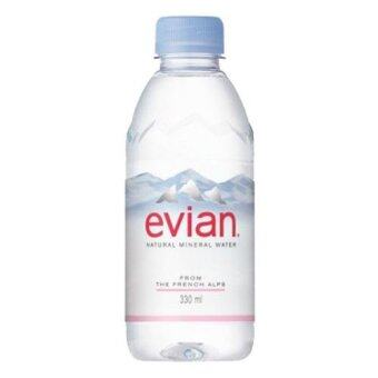 Harga Evian Mineral Water Prestige 24 x 330ml (1 Carton) - France