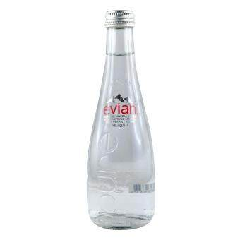 Harga Evian Mineral Water - Glass Bottle 330ml - France