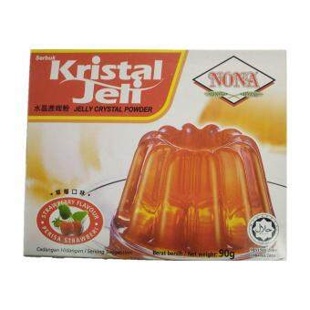 Harga NONA Crystal Jelly Strawberry 90g