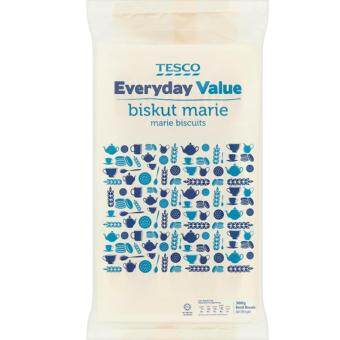 Harga TESCO EVERYDAY VALUE MARIE BISCUIT (300G)