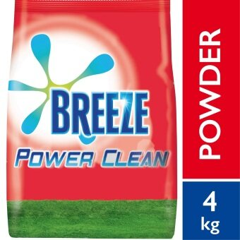 Harga Breeze Detergent Powder Power Clean 4 kg