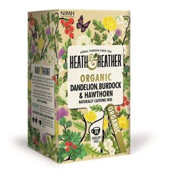 Harga Heath & Heather Dandelion Burdock and Hawthorne Leaves Tea - (20 sachets)
