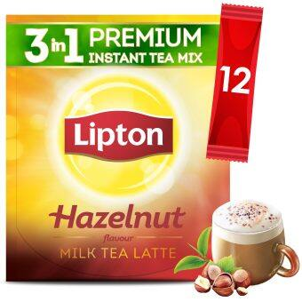 Lipton Milk Tea 3 in 1 Hazelnut 12 sticks