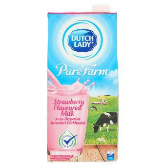 Harga UHT MILK DL PF Strawberry 1L