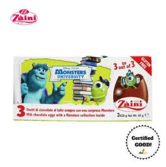 Harga Zaini Egg Monster U Surprise Toy Chocolate 60g