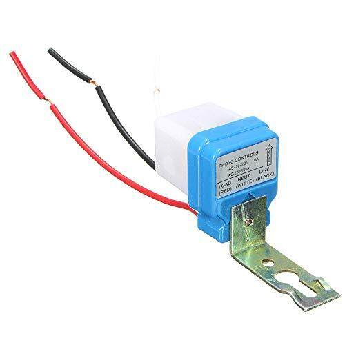 Auto Day/Night on/off Photocell LDR Sensor Switch/Street Light Switch Photo  Control Sensor for AC 220V 10A