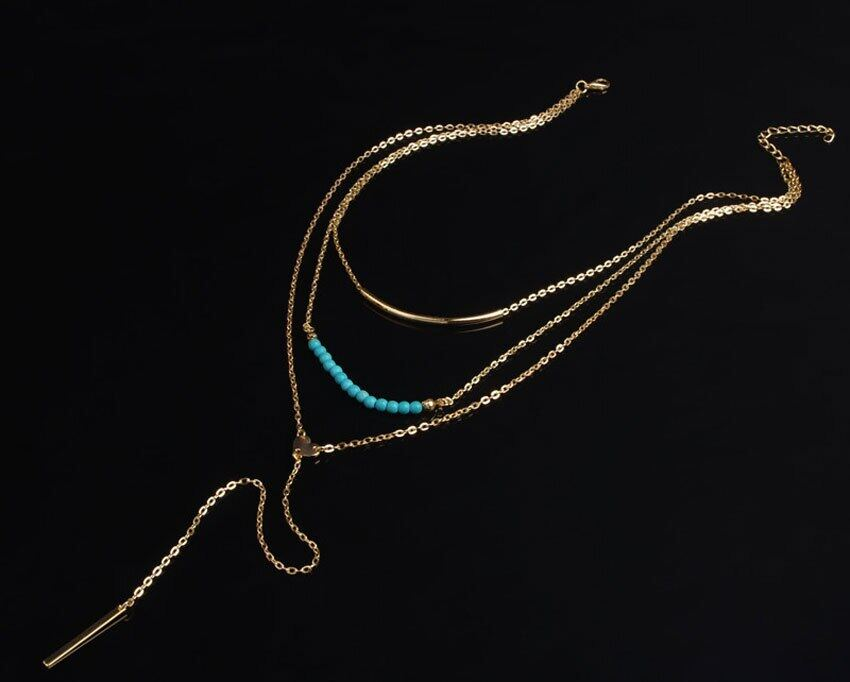 Bead-Pendant-3-Layers-Gold-Chain-Necklaces-Fashionable-Charms-Simple-Chic-Necklace-Ladies-Drop-Long-Tassel (2)