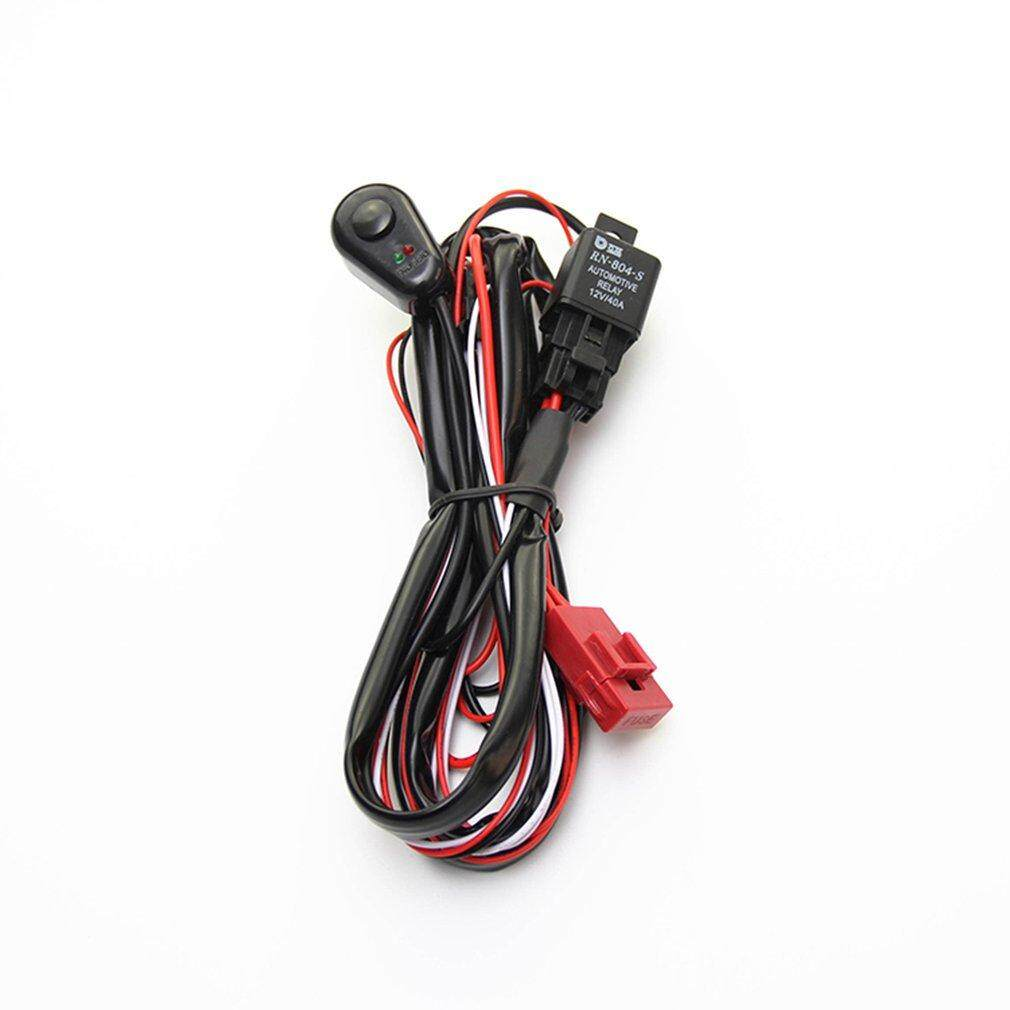 Best Rating 2M Off-road Work Light Wiring Harness ON/OFF Switch LED on
