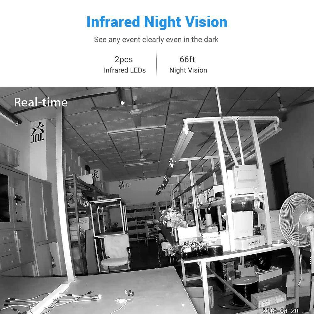2MP HD 1080P POE IP Camera Smart 4mm Network IR Night Vision Waterproof  H 265