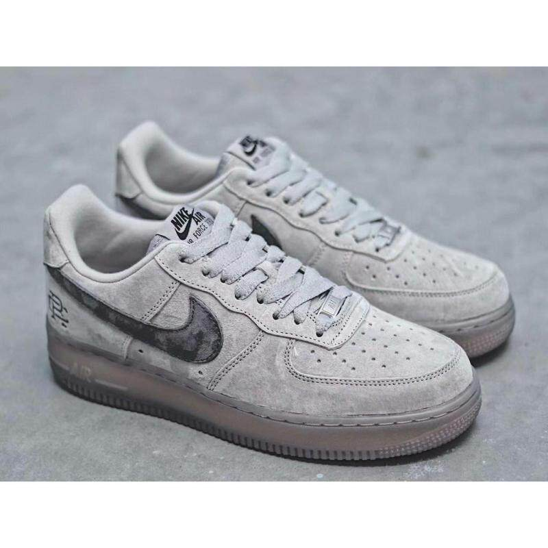 uk availability 6a17a 47999 2019 New 100% authentic Nike_Air_Force_1 Mid x Reigning Champ Air Force One  Sneakers Good quality Sale
