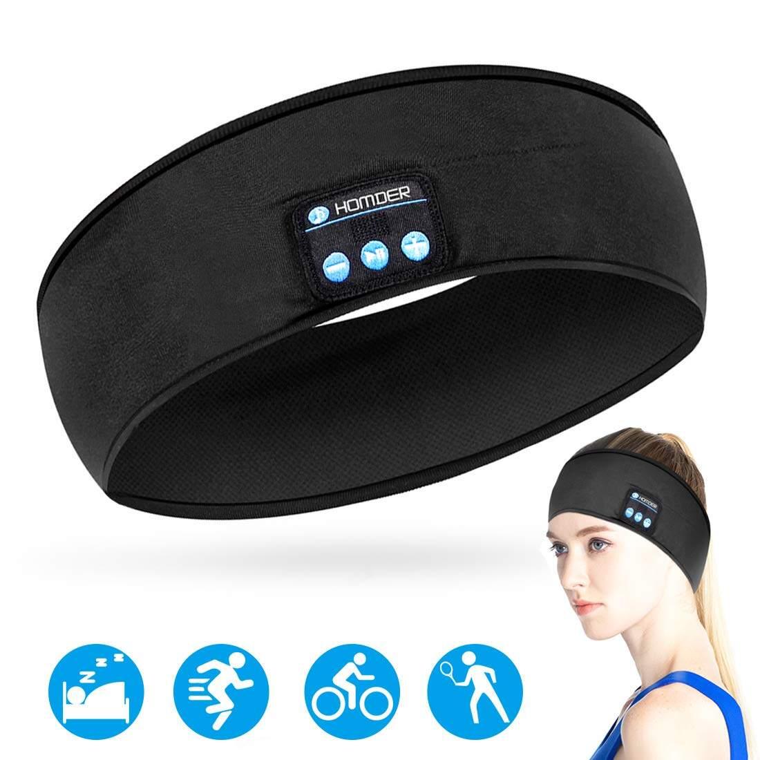Homder Sleep Headphones Bluetooth Headband Stereo Wirless Bluetooth 5 0 Headset Unisex Sport Sweatband For Working Out Exercising Skating Snowboarding Hiking Lazada Ph