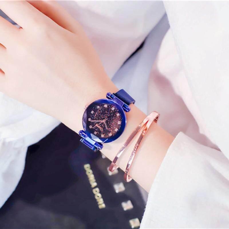 Poke Live Dcf Shapes: Fashion Ladies Watch Magnet Clasp Adjusting Strap