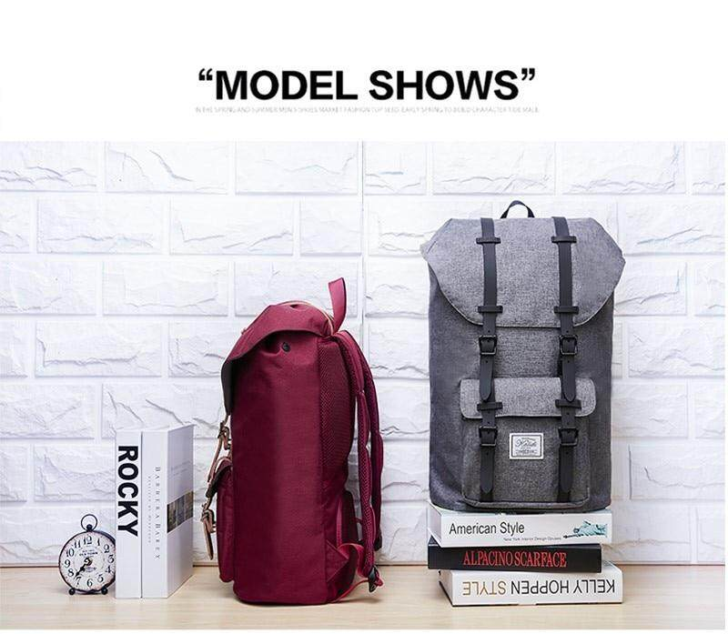 4445f6e8b388 KALIDI Laptop Backpack 15.6-17.3 inch for Teenage School Travel Bag Leather  Casual Men Backpacks 15-17inch Backpack Travel Women