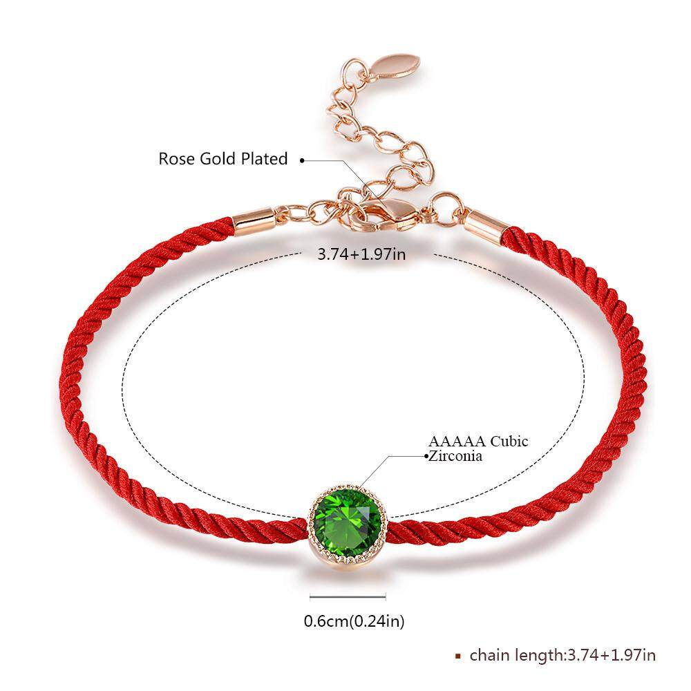 f9207e8b9540a Rich Long Gold Plated Women's Chinese New Year China Spring Festival Lucky  Transfer beads Weaving Red Rope Vintage Rhinestone Charm Bracelet Bangles  ...
