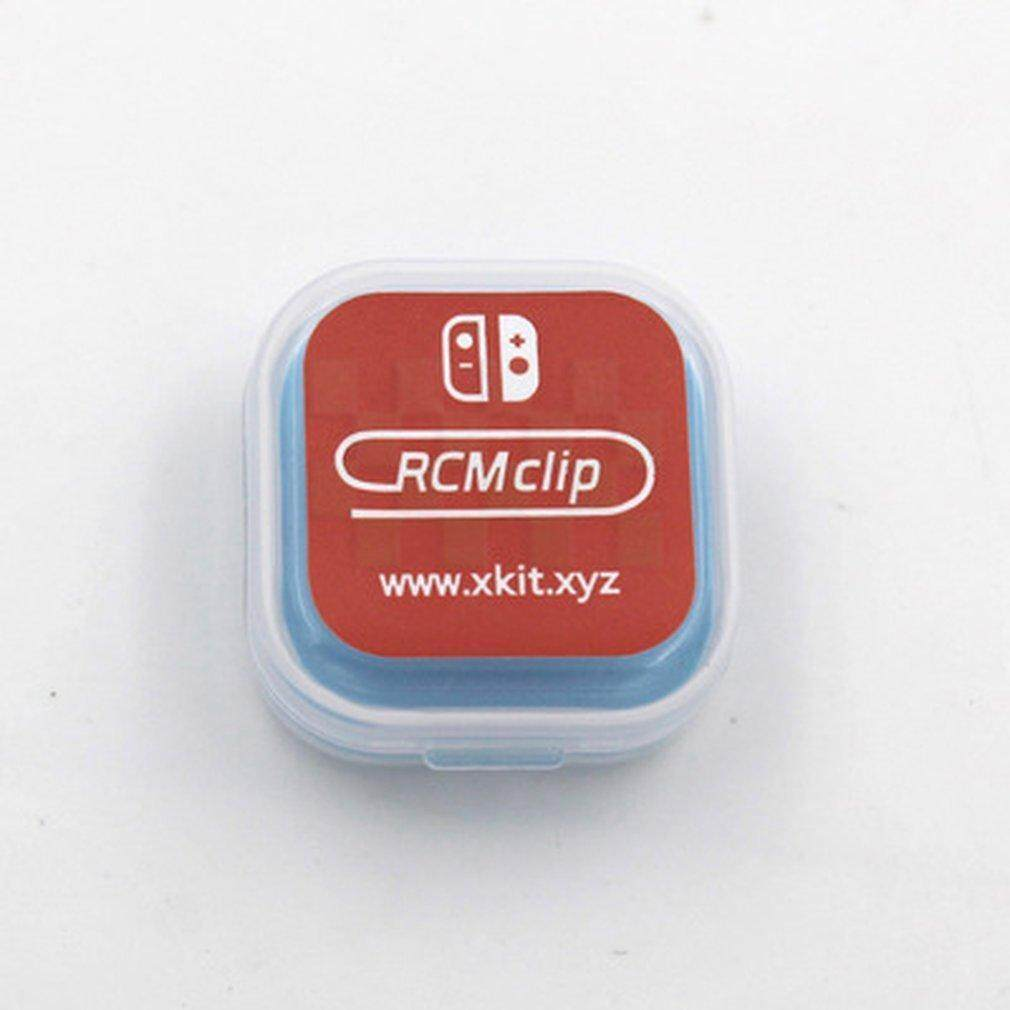 RCM Short Circuit Recovery Mode Plastic Jig Tool Clip for Nintendo Switch