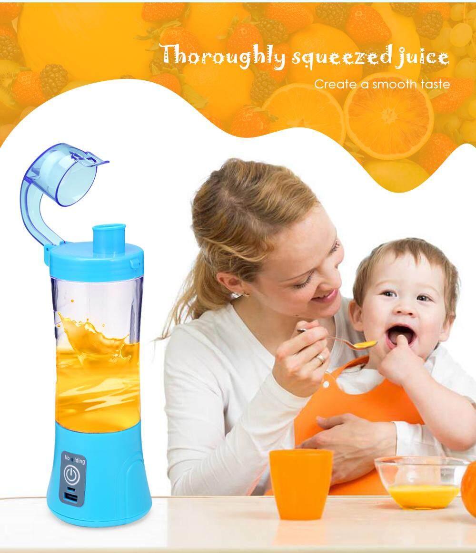 Electric Portable Juicer Cup Fruit Vegetable Juice Mixer