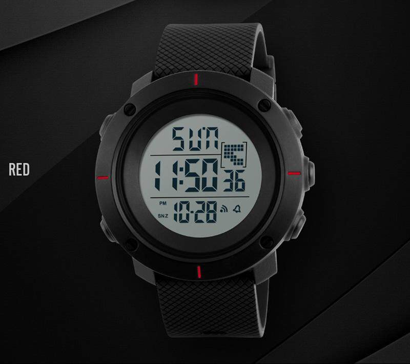 Watches Skmei Men Big Dial Sports Watches Multifunction Chronograph 50m Water Resistant Alarm Clock Date Digital Wristwatches 1213 Great Varieties